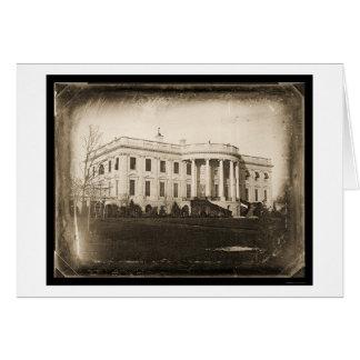 Daguerreotype 1846 de DC de la Casa Blanca Felicitación