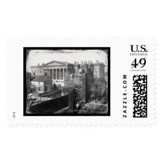 Daguerreotype 1846 de la oficina de patentes de sellos postales