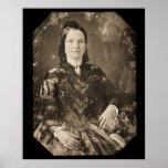 Daguerreotype 1846 de Maria Todd Lincoln Poster