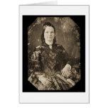 Daguerreotype 1846 de Maria Todd Lincoln Tarjeta De Felicitación