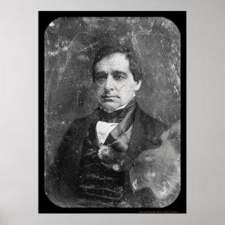 Daguerreotype 1848 de Hamlin del miembro del Congr Póster