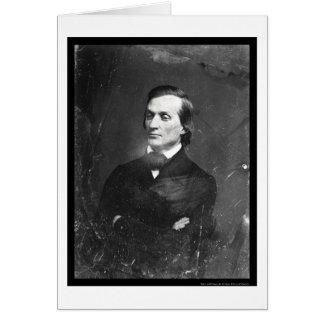 Daguerreotype 1850 de Borland del Solon Tarjeta De Felicitación