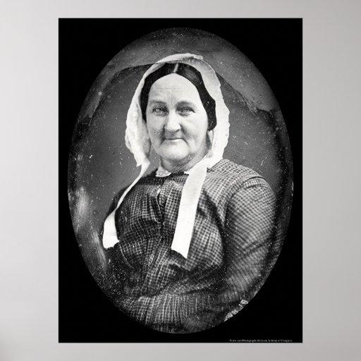 Daguerreotype 1851 de Louisa Whitman Póster