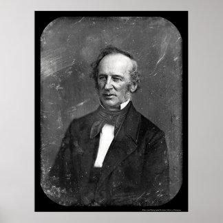 Daguerreotype 1852 de Cornelio Vanderbilt Póster