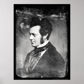 Daguerreotype 1852 de Edwin Forrest Póster