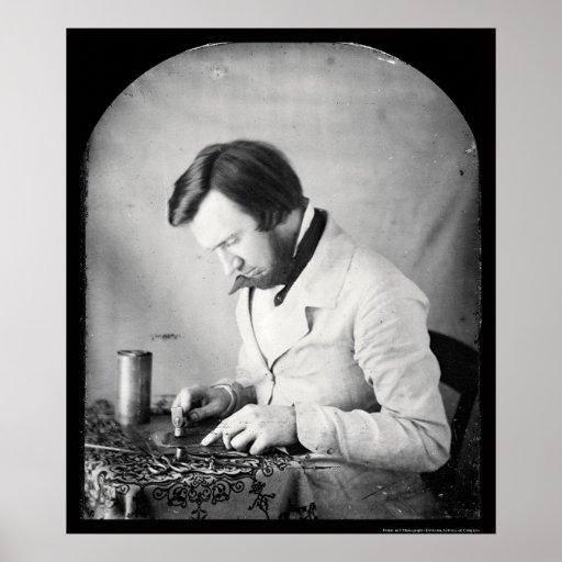 Daguerreotype 1853 de Tinworker Póster