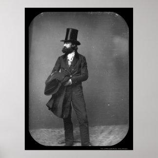 Daguerreotype 1853 del soporte de Guillermo Sydney Posters