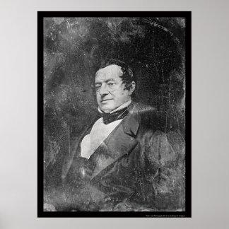 Daguerreotype 1855 de Washington Irving Poster