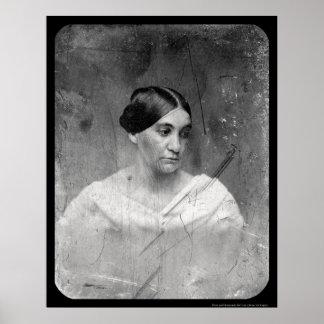 Daguerreotype 1856 de Phoebe Cary Póster