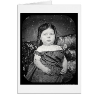 Daguerreotype 1857 de Anne Roberts Tarjeta De Felicitación