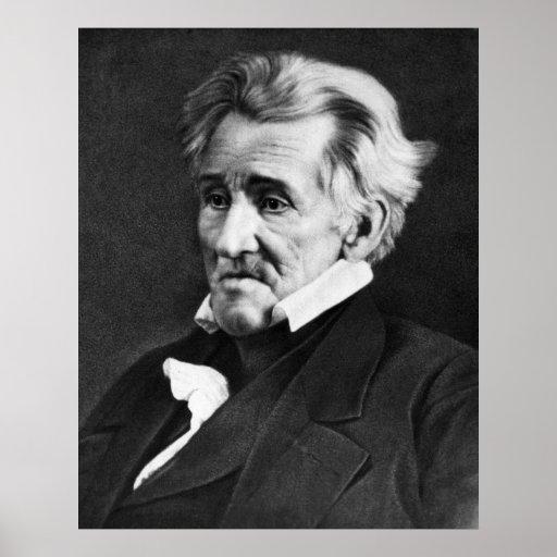 Daguerreotype de ANDREW JACKSON de Mathew Brady Póster