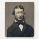 Daguerreotype de Maxham del retrato de Henry David Tapetes De Raton
