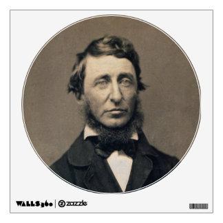 Daguerreotype de Maxham del retrato de Henry David Vinilo Adhesivo
