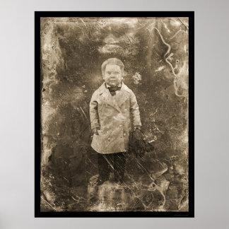 Daguerreotype general 1844 del pulgarcito póster