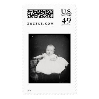 Daguerreotype gris 1861 de Harrison Fiske Envio