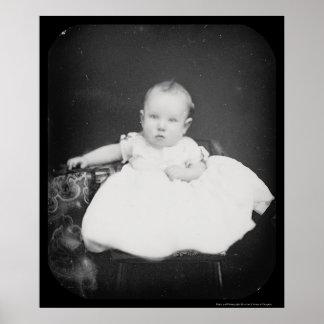 Daguerreotype gris 1861 de Harrison Fiske Póster