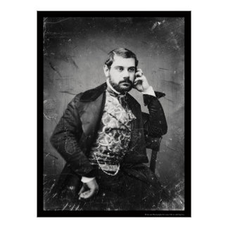 Daguerreotype italiano 1849 de la ópera de Sesto B Póster