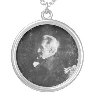 Daguerreotype of Andrew Jackson by Edward Anthony Round Pendant Necklace