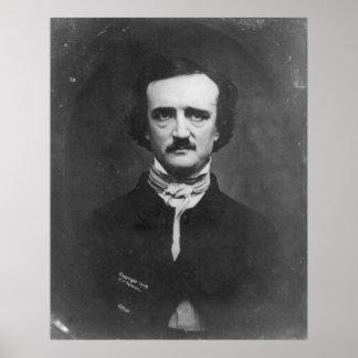 Daguerreotype of Edgar Allan Poe by C.T. Tatman Poster