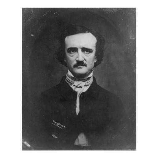 Daguerreotype of Edgar Allan Poe by C.T. Tatman Print