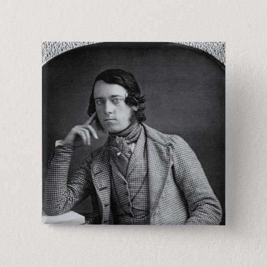 Daguerreotype Portrait of Gentleman 1845 Pinback Button