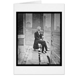 Daguerreotype que se sienta 1843 de Juan Tarjeta De Felicitación