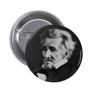 Daguerrotipo de presidente Andrew Jackson en 1845 Pin