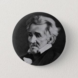 Daguerrotype of President Andrew Jackson in 1845 Pinback Button