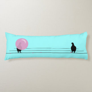 DAGUM BIRD Funny Bubble Gum Birds Body Pillow
