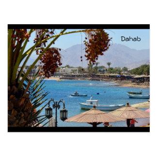 Dahab Bay - Egypt Postcard