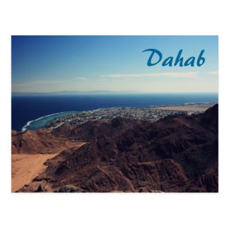 Dahab from Above Postcard