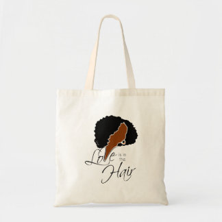 DAHJO - LOVE IS IN THE HAIR TOTE BAG