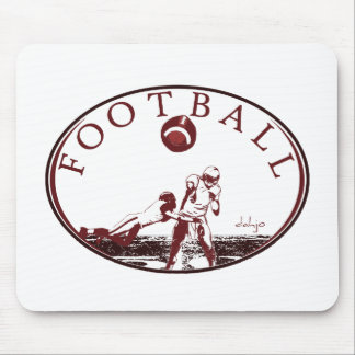 DAHJO Sports Series FOOTBALL Mouse Pad