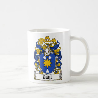 Dahl Family Crest Coffee Mug
