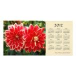 Dahlia 2012 Calendar Photo Card