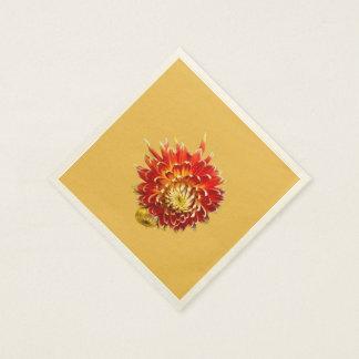 Dahlia 'Akita' Paper Napkin