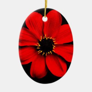 Dahlia Ceramic Ornament