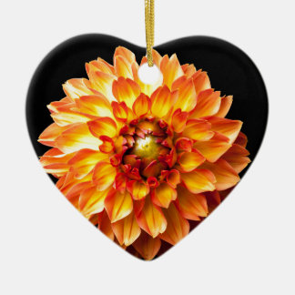 Dahlia Ceramic Ornament