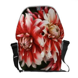 Dahlia Flower Bag Courier Bag