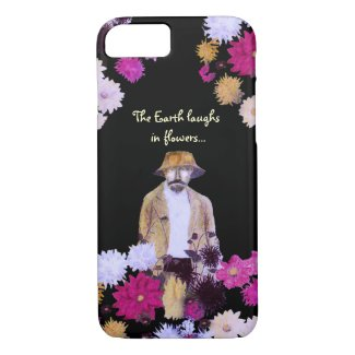 Dahlia Flower Gardener iPhone 7 Case