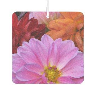 Dahlia Flowers Air Freshener