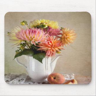 Dahlia Flowers Mousepad