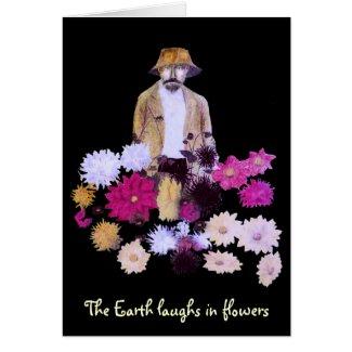 Dahlia Gardener Card