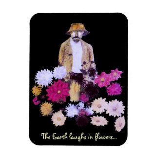 Dahlia Gardener Magnet