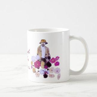 Dahlia Gardener Coffee Mugs