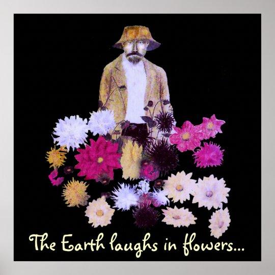 Dahlia Gardener Poster