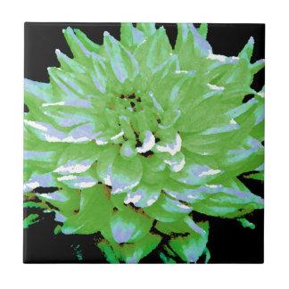Dahlia - Honeymoon  - earth tone - green - Tile