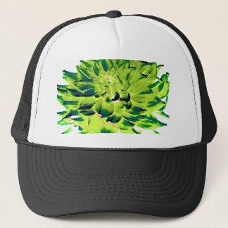 Dahlia - Honeymoon  - Earth Tone - Green Trucker Hat