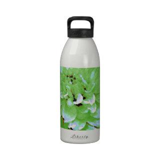 Dahlia - Honeymoon  - earth tone - green - Water Bottle