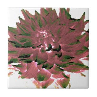 Dahlia - Honeymoon  - earth tone Tiles